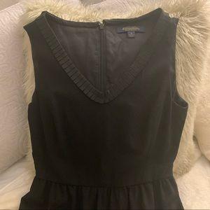 Classic Brooks Brothers Black Dress